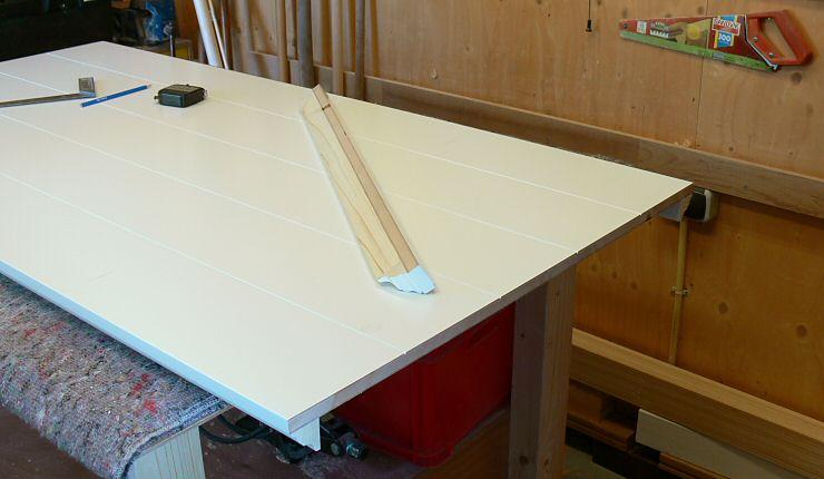 Bureau tafel kleiner maken for Ladenblok maken